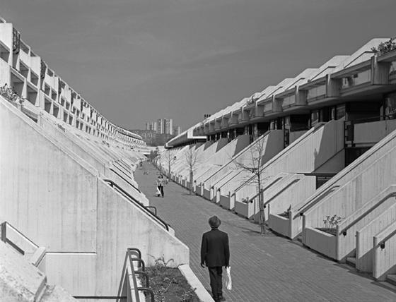 Rowley Way w latach 70tych. Autor zdjęcia - Martin Charles
