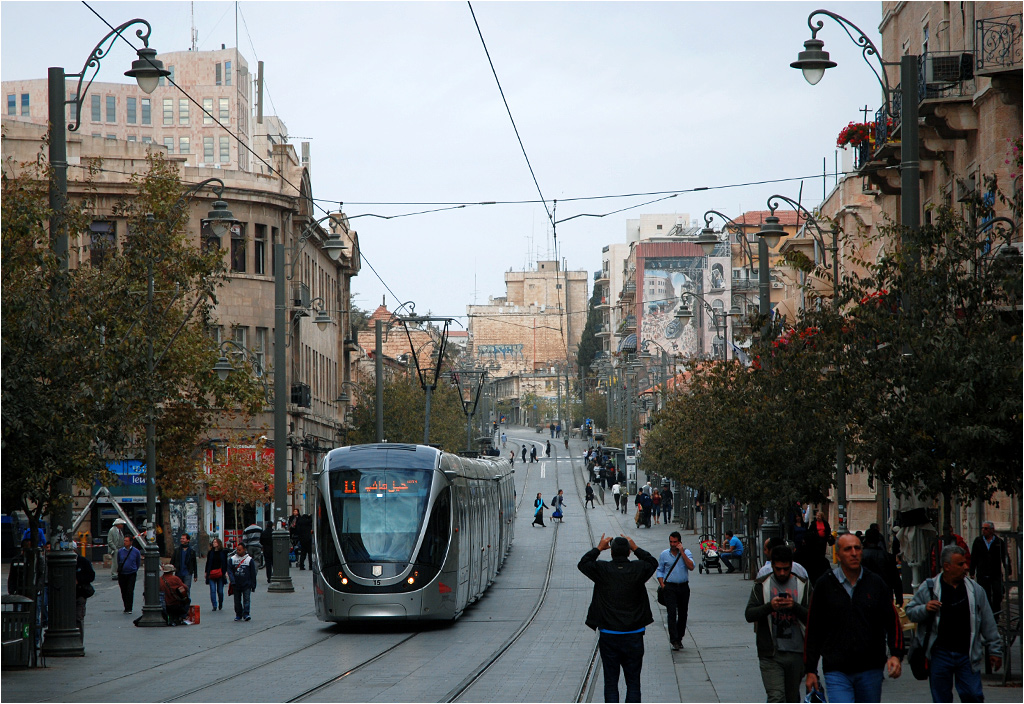 jerusalem tram