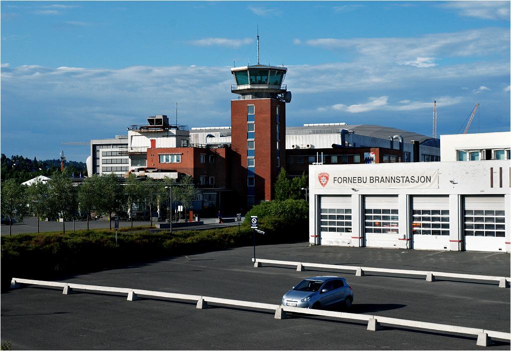 Pozostałości po lotnisku Oslo-Fornebu