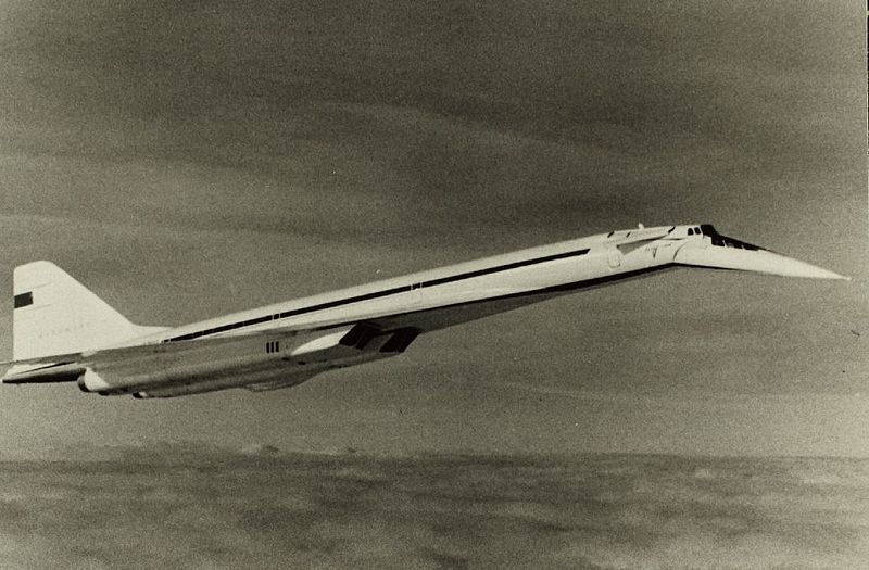 Radziecki Tu-144, efekt szpiegostwa przemysłowego w fabryce Concorde'a