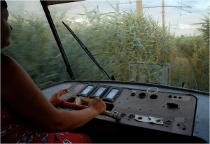 Odessa, tramwaj bagienny