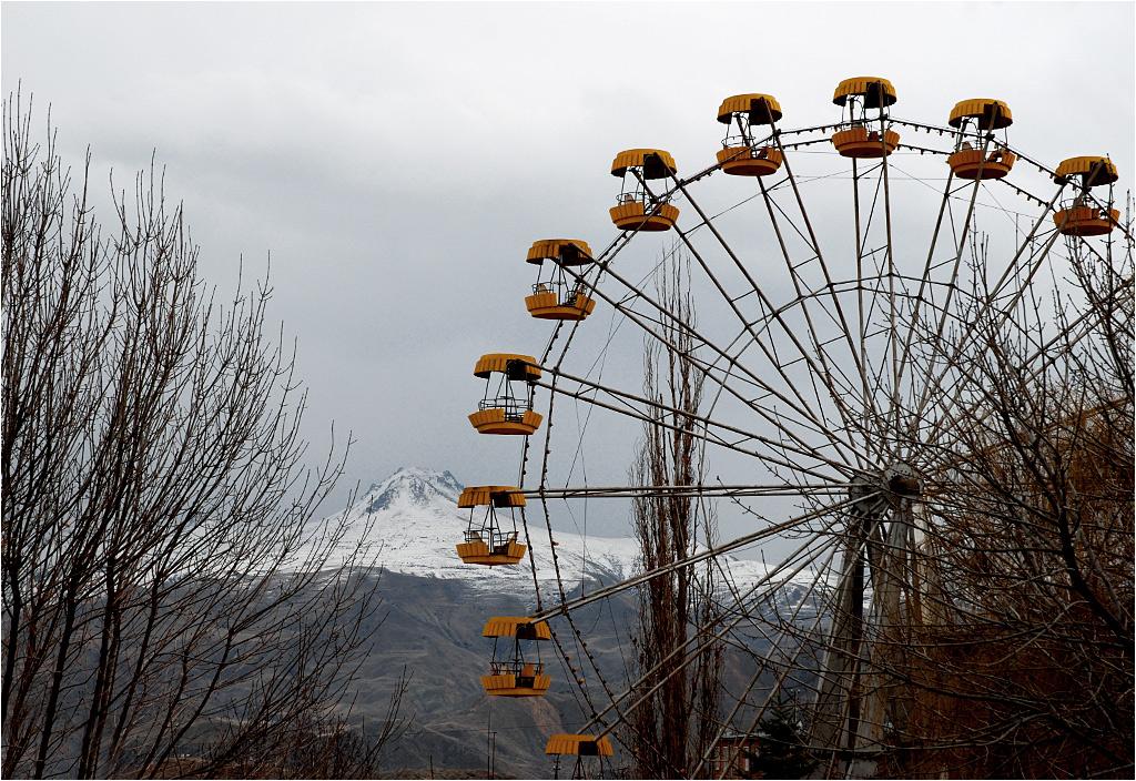 Jeghegnadzor, Armenia - to wesołe miasteczko już raczej nie ruszy