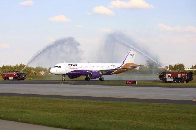 Chrzest samolotu 4You Airlines (zdjęcie z Facebooka linii)