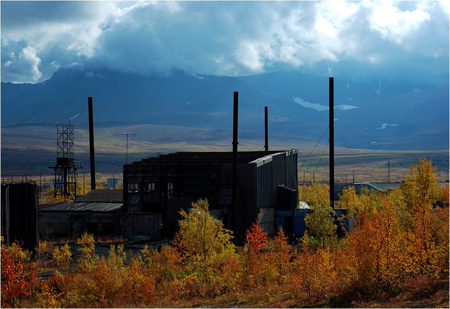 Wioska Poljarnyj w Polarnym Uralu od ponad dwudziestu lat jest całkowicie opuszczona