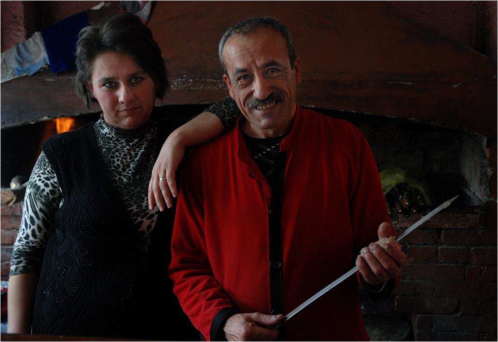 Rodzina restauratorów z Górskiego Karabachu