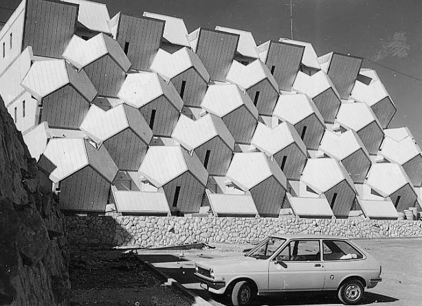 Ramot Polin w latach 70tych