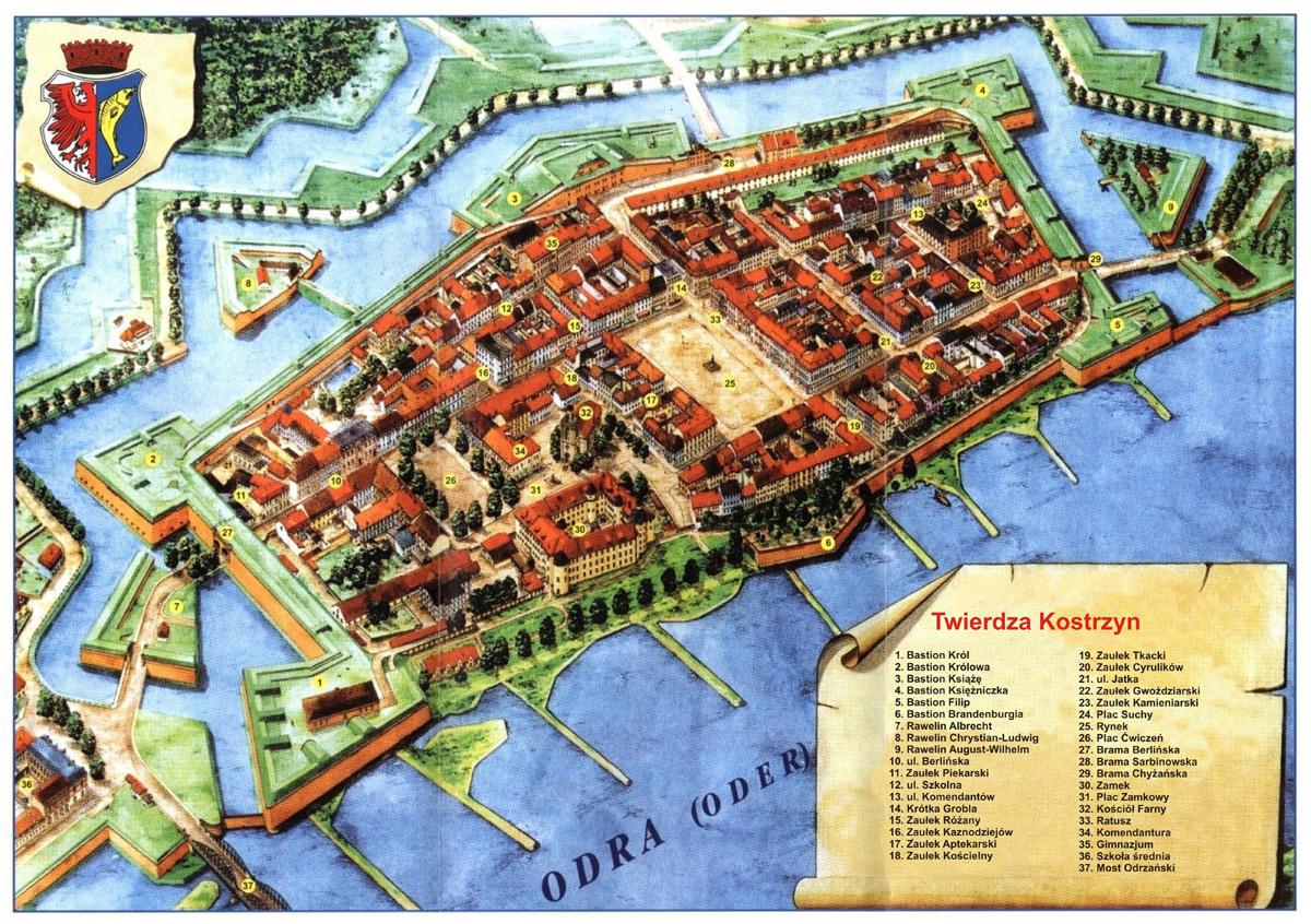 Festung Küstrin w dwudziestoleciu międzywojennym