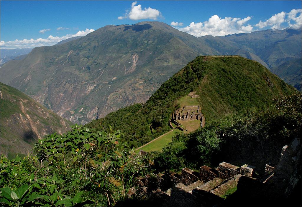Zaraz za ruinami Choquequirao znajduje się potężny kanion rzeki Apurímac