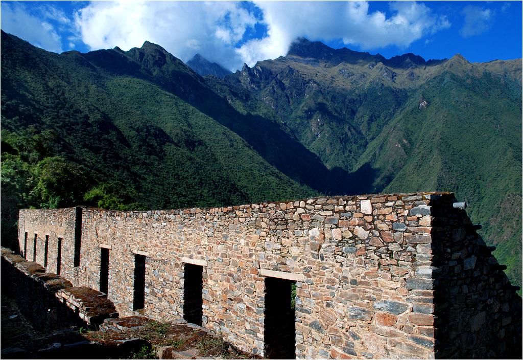 Choquequirao znajduje się na wysokości 3050 metrów. A do szczytu jeszcze daleko...