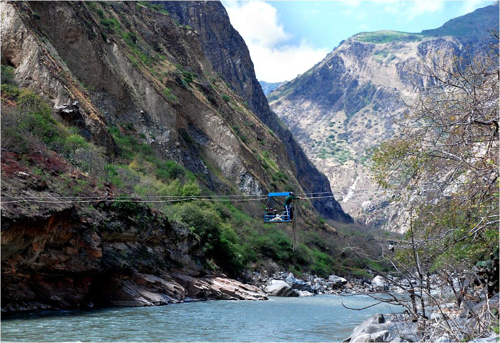 Przeprawa przez rzekę Apurímac