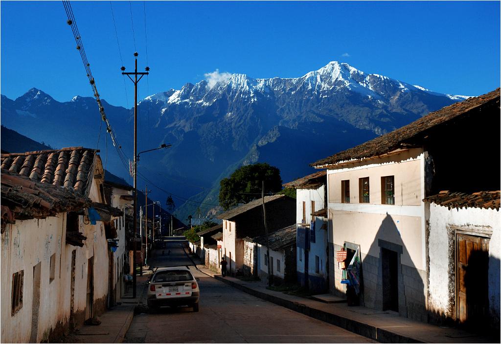 San Pedro de Cachora, początek... i koniec szlaku do Choquequirao