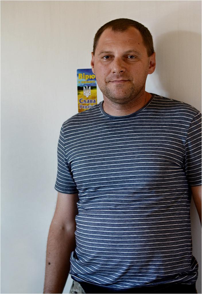 Andriej Tujakow, szef Chrześcijańskiej Szkoły Snajperów w Dniepropietrowsku