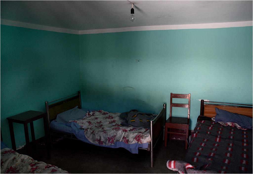 Pokój hotelowy w Potosí. Pal sześć warunki, byleby się chociaż wyspać...