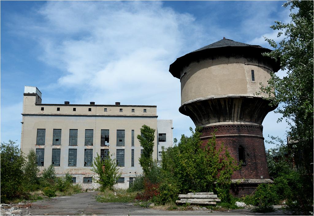 Kotłownia i wieża ciśnień prawdopodobnie zostaną zachowane
