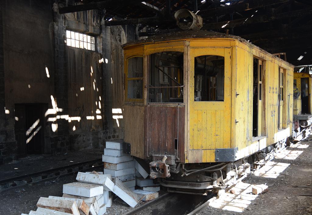 Drewniana lokomotywa numer 20, rok produkcji – 1906
