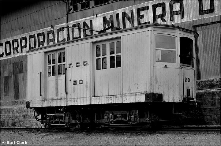 Lokomotywa numer 20 za czasów swojej służby (dokładna data nieznana) – fot. Earl Clark, ze zbiorów Allena Morrisona (www.tramz.com)
