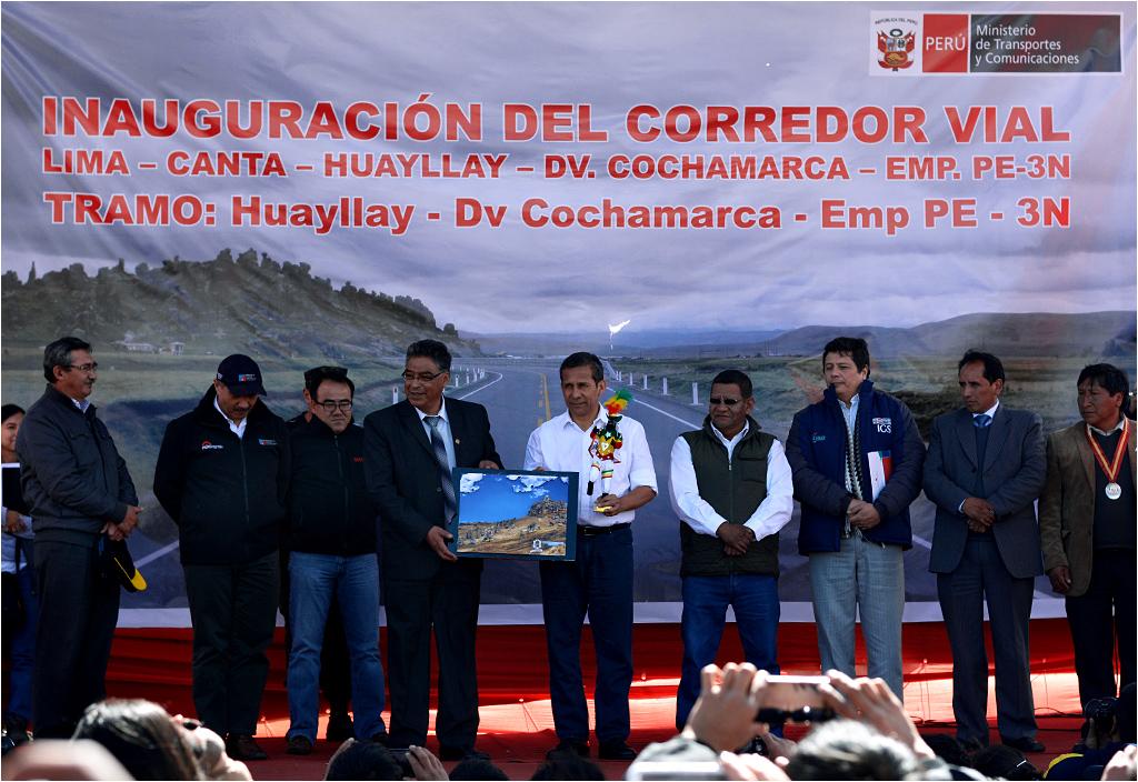 Ollanta Humala en Huayllay