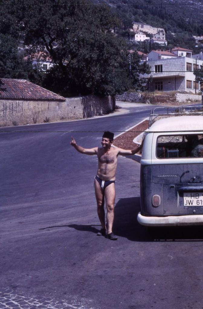 Alexander Lipson w Jugosławii