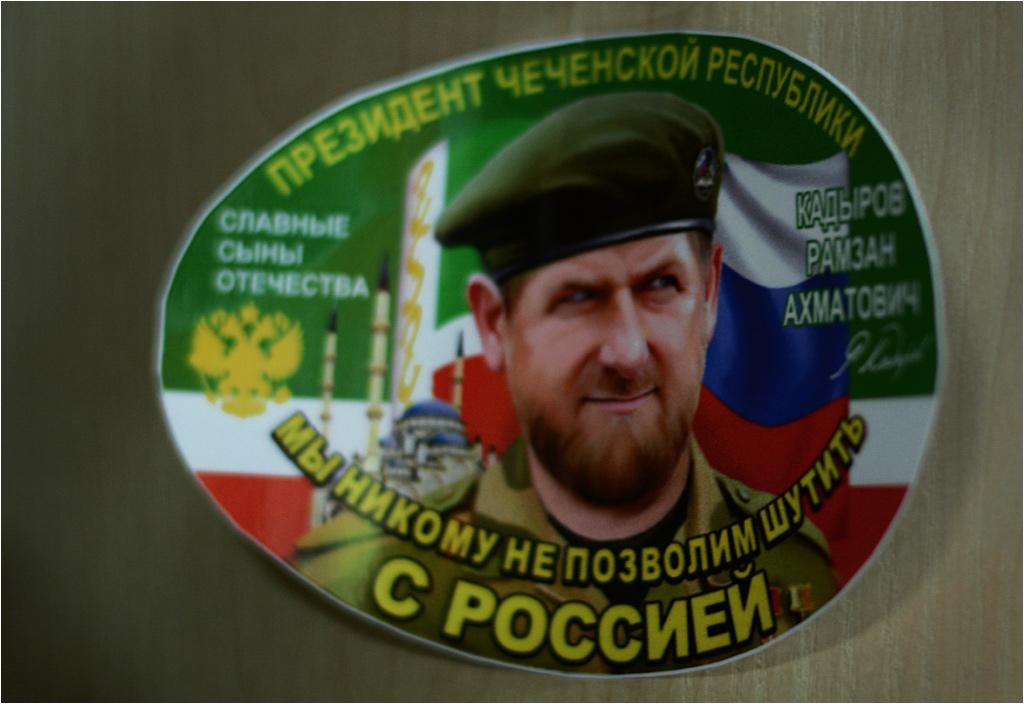 ...oraz Ramzana Kadyrowa, prezydenta Czeczenii.