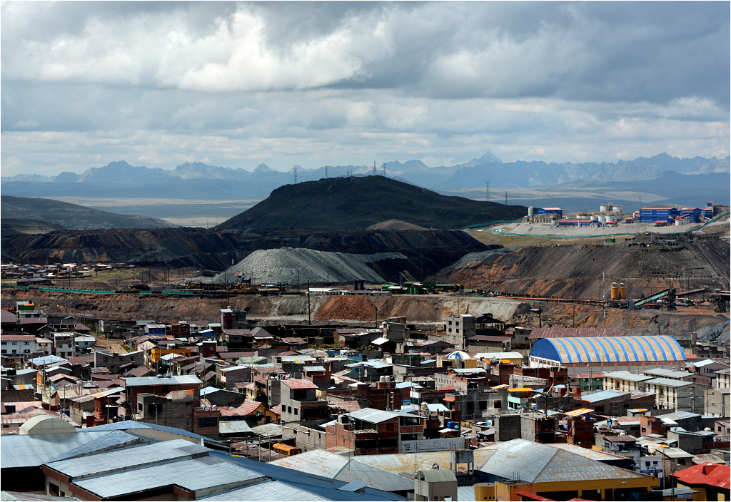 Widok na Cerro de Pasco