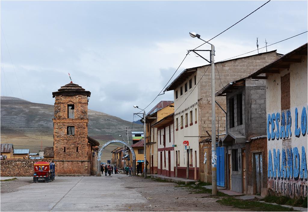 Rynek w Ninacaca