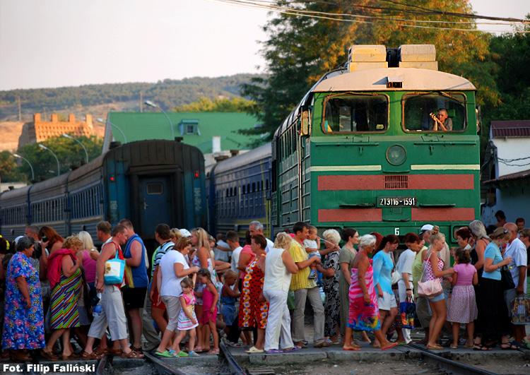 31.07.2007, Teodozja, Krym. Same nowości: nowy aparat, pierwsza podróż na wschód, nowy podpis pod zdjęciem...