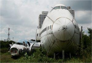 Cmentarzysko samolotów w Bangkoku