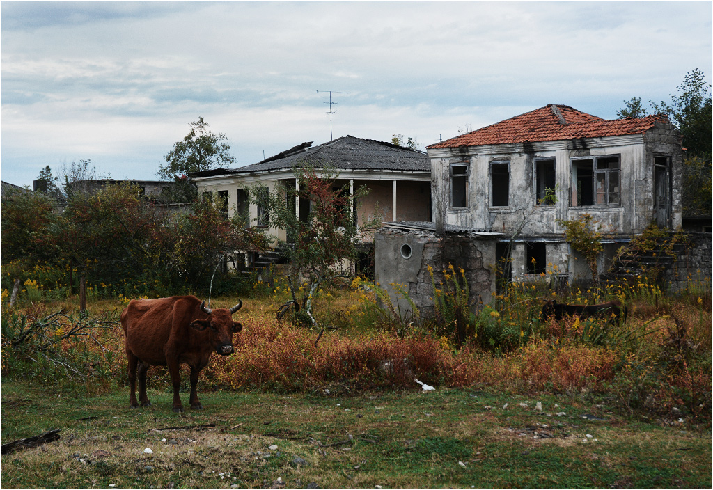 Oczamczira, centrum miasteczka