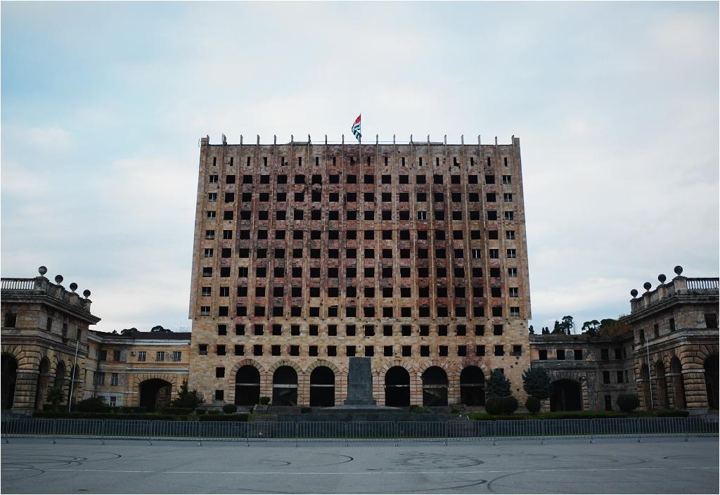 Abchaski parlament w Suchumi