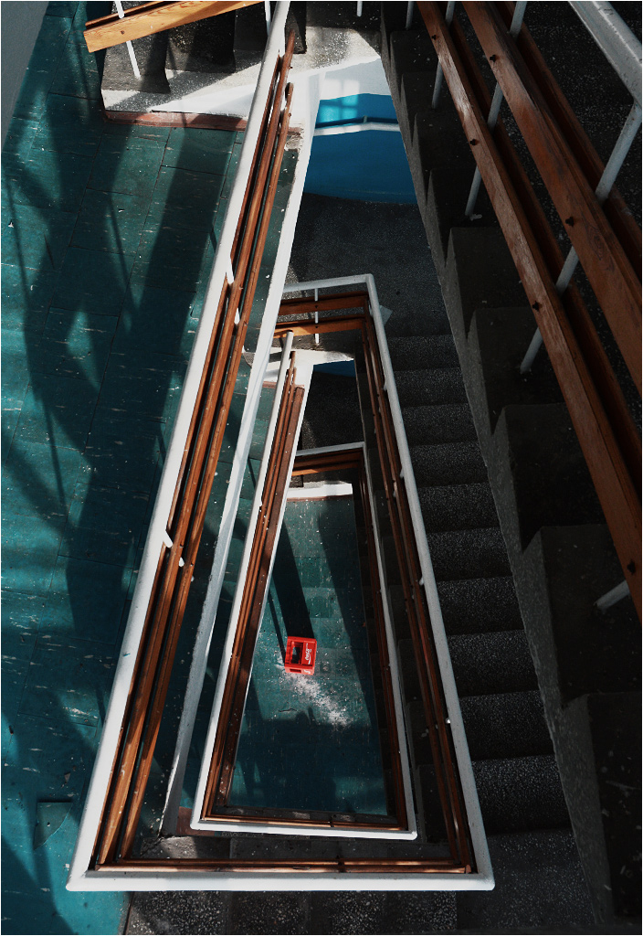 Rzut oka na klatkę schodową