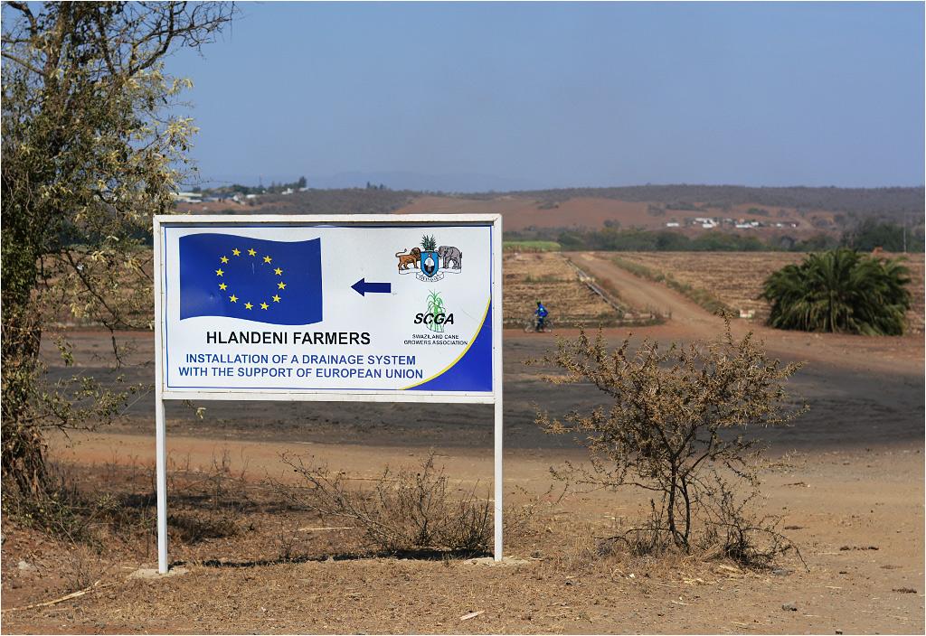 Unia Europejska jest na tyle wszechwładna, że sięga nawet suazyjskiej prowincji