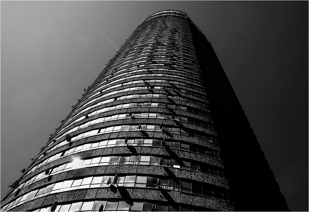 Ponte City - fasada