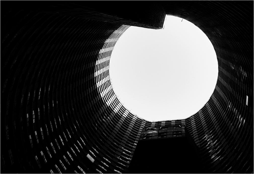 Ponte City - wnętrze