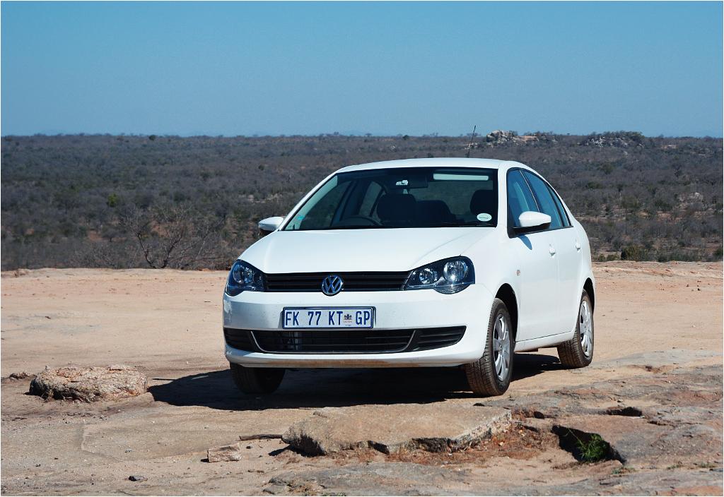 Samochód, którym przemieszczaliśmy się po Afryce Południowej