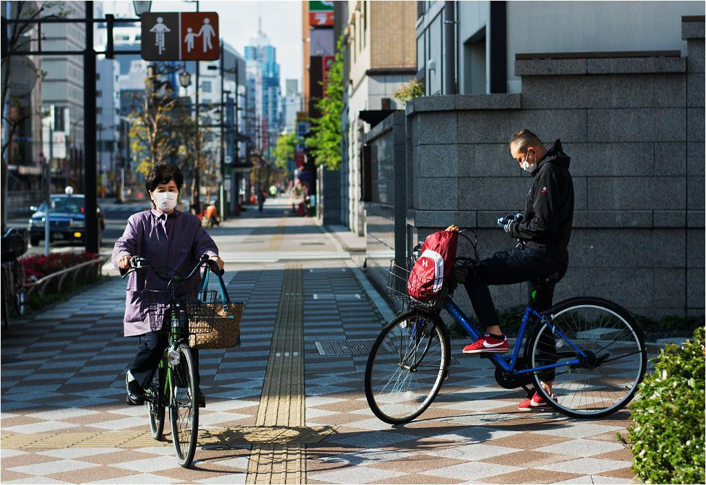 Cisza, spokój i spora ilość rowerów - codzienne tokijskie realia