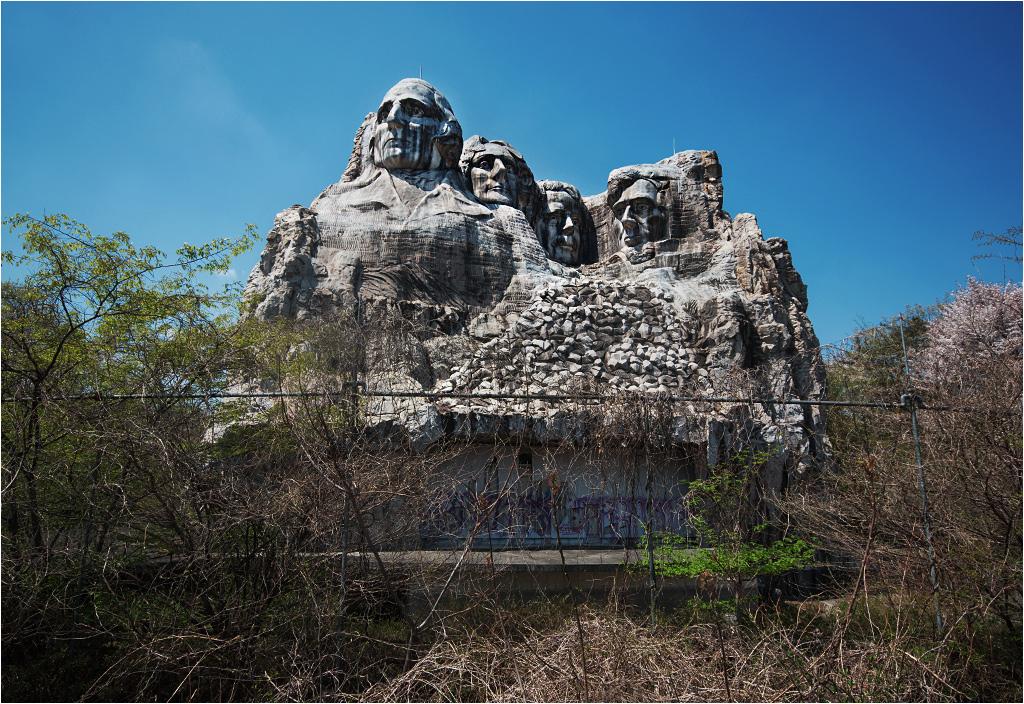 Choćby i było to opuszczone Mount Rushmore z masy gipsowej!