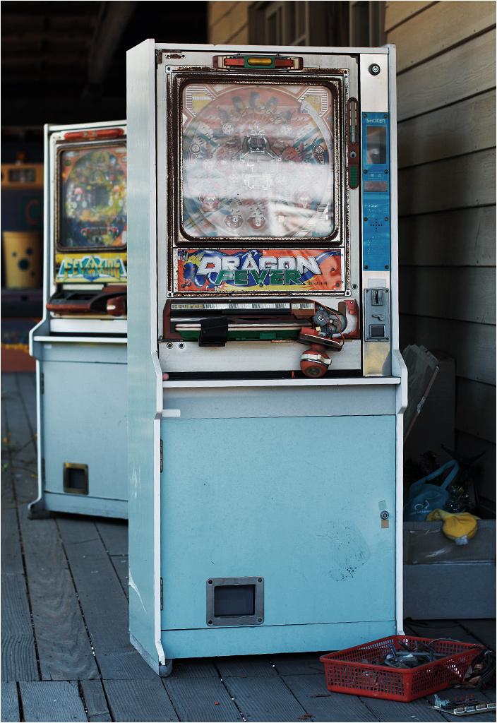 Nie ma Japonii bez automatów do gier