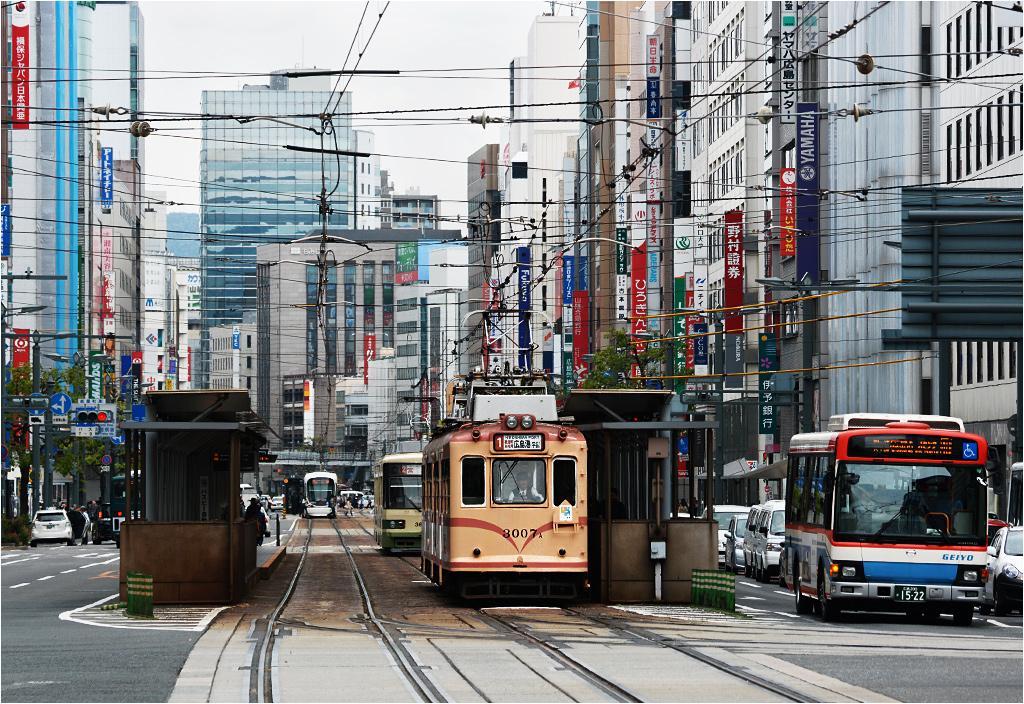 A ten urokliwy (też nieco postapokaliptyczny) tramwaj powstał w 1954 roku