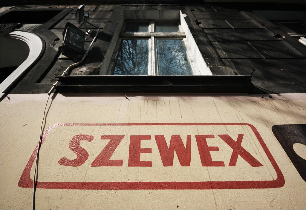 A skoro o sklepach mowa, na Wildzie mieści się też hurtownia szewska o wdzięcznej nazwie Szewex