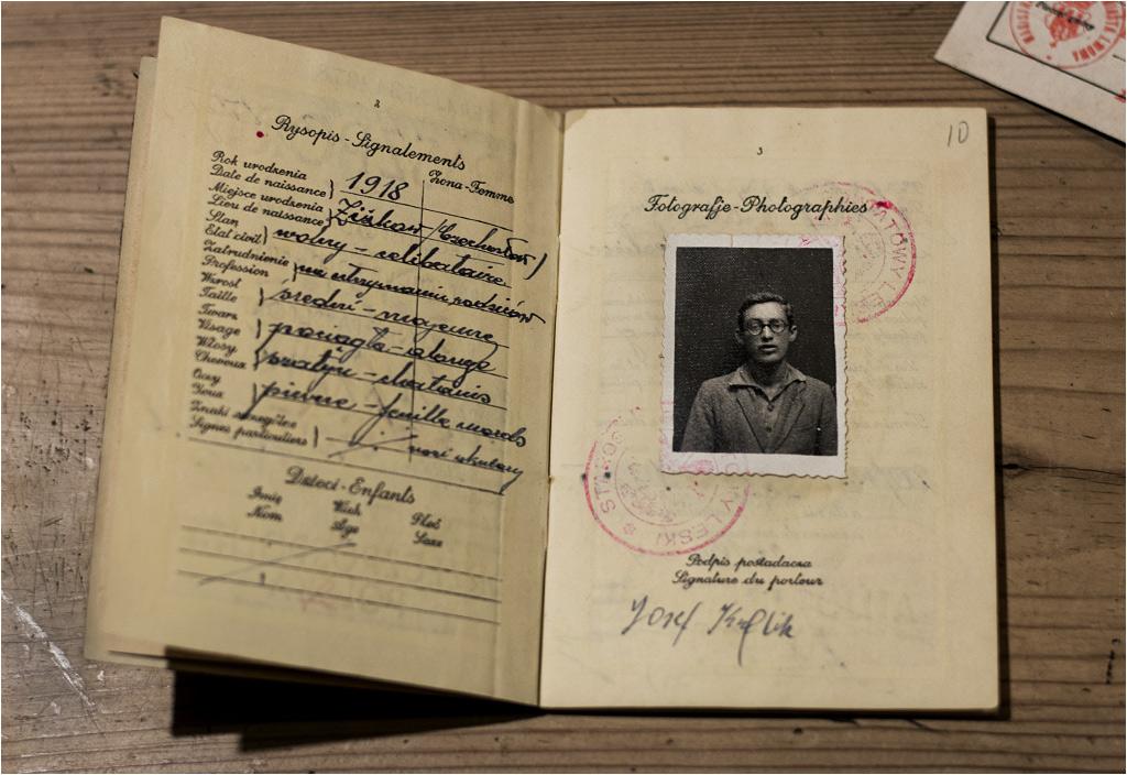 Krewny Woody'ego Allena? To paszport młodego Żyda Josefa Kuflika