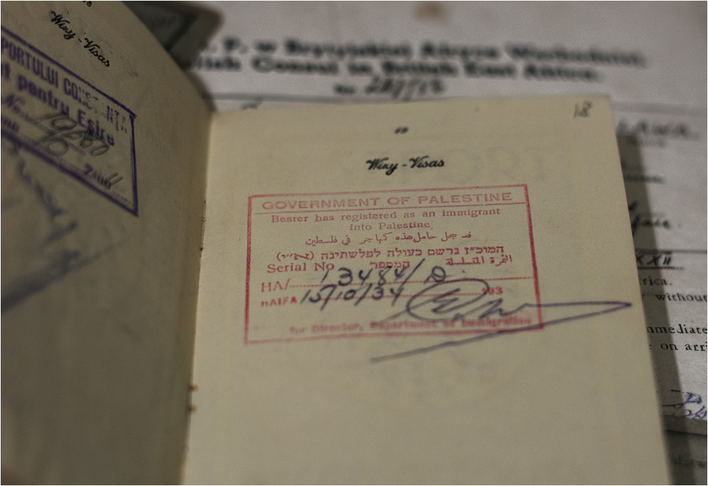 Wreszcie na miejscu! Josef Kuflik dotarł do Palestyny i został zarejestrowany jako imigrant