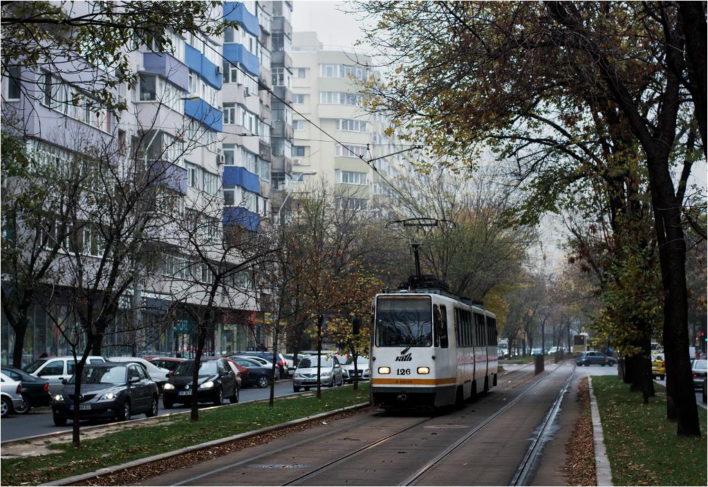 Tramwaje w Bukareszcie to głównie model URAC V3A-93 produkcji rumuńskiej