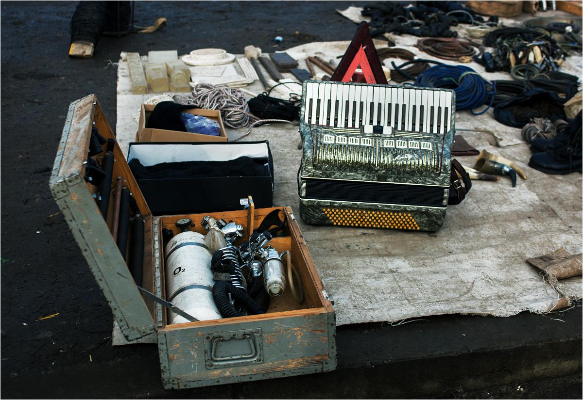Akwalung, akordeon i zwoje kabli