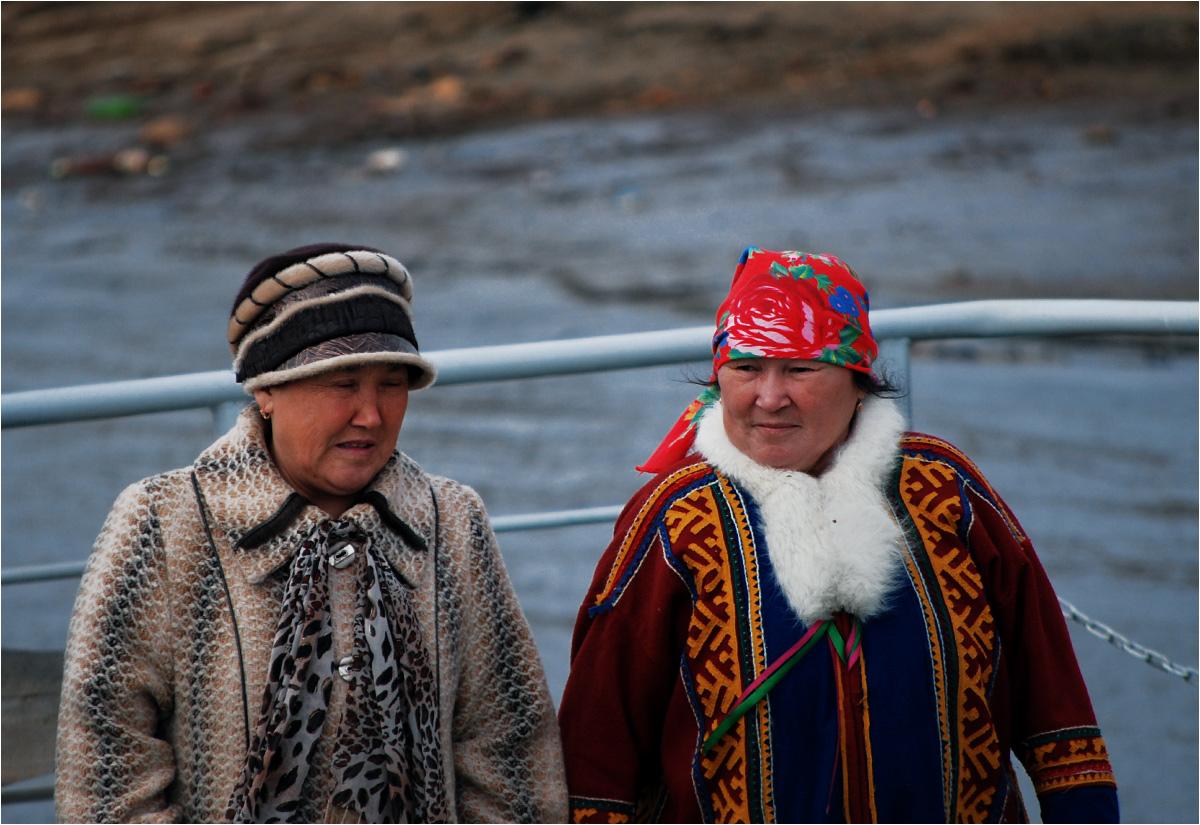 Chantyjskie pasażerki promu