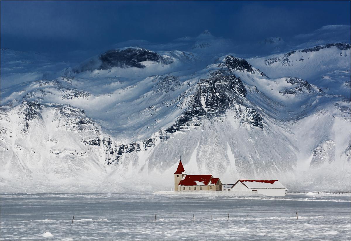 Marzenie księdza-pustelnika. Islandia, gmina Snæfellsbær