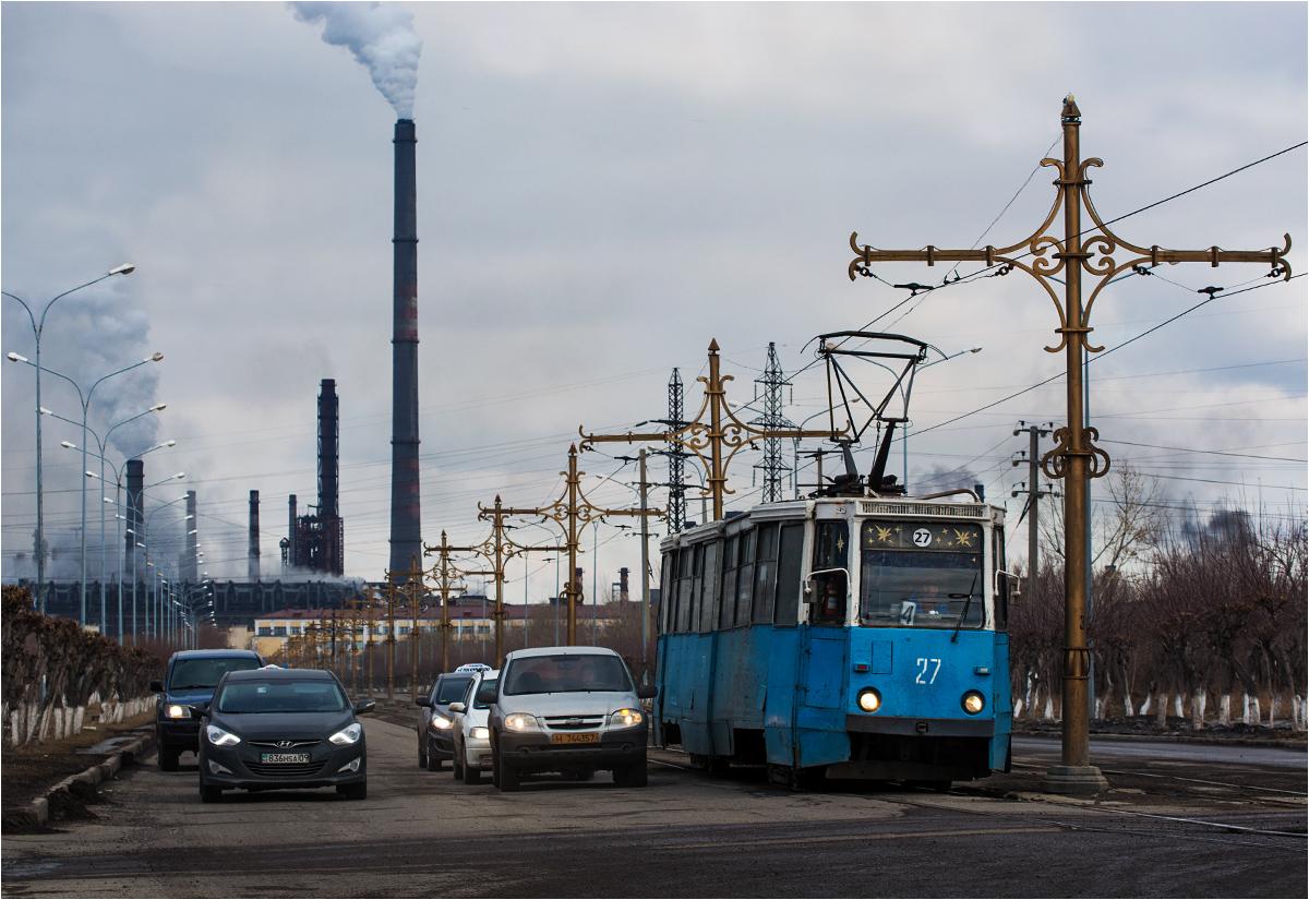 """Miasto w cieniu kombinatu. O tramwajach w Temirtau pisałem już <a href=""""http://www.stacjafilipa.pl/2018/11/05/tramwaje-na-stepie-smutna-historia-temirtau/"""" target=""""_blank"""" rel=""""noopener"""">tutaj</a>"""