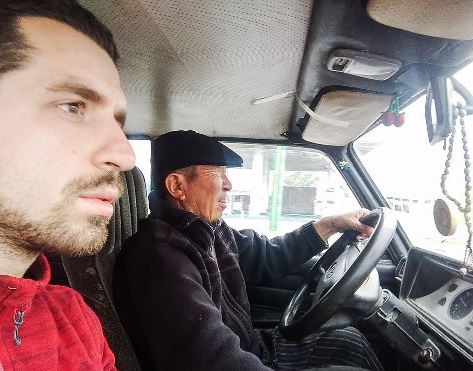 W samochodzie pana Tochtobeka