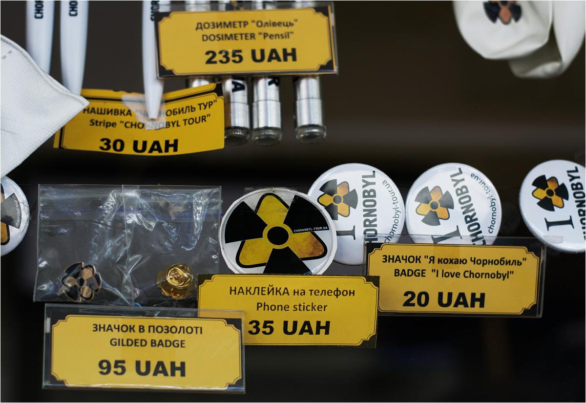 """Balonik, długopis czy znaczek """"I love Chornobyl""""? Co przywieziesz do domu?"""