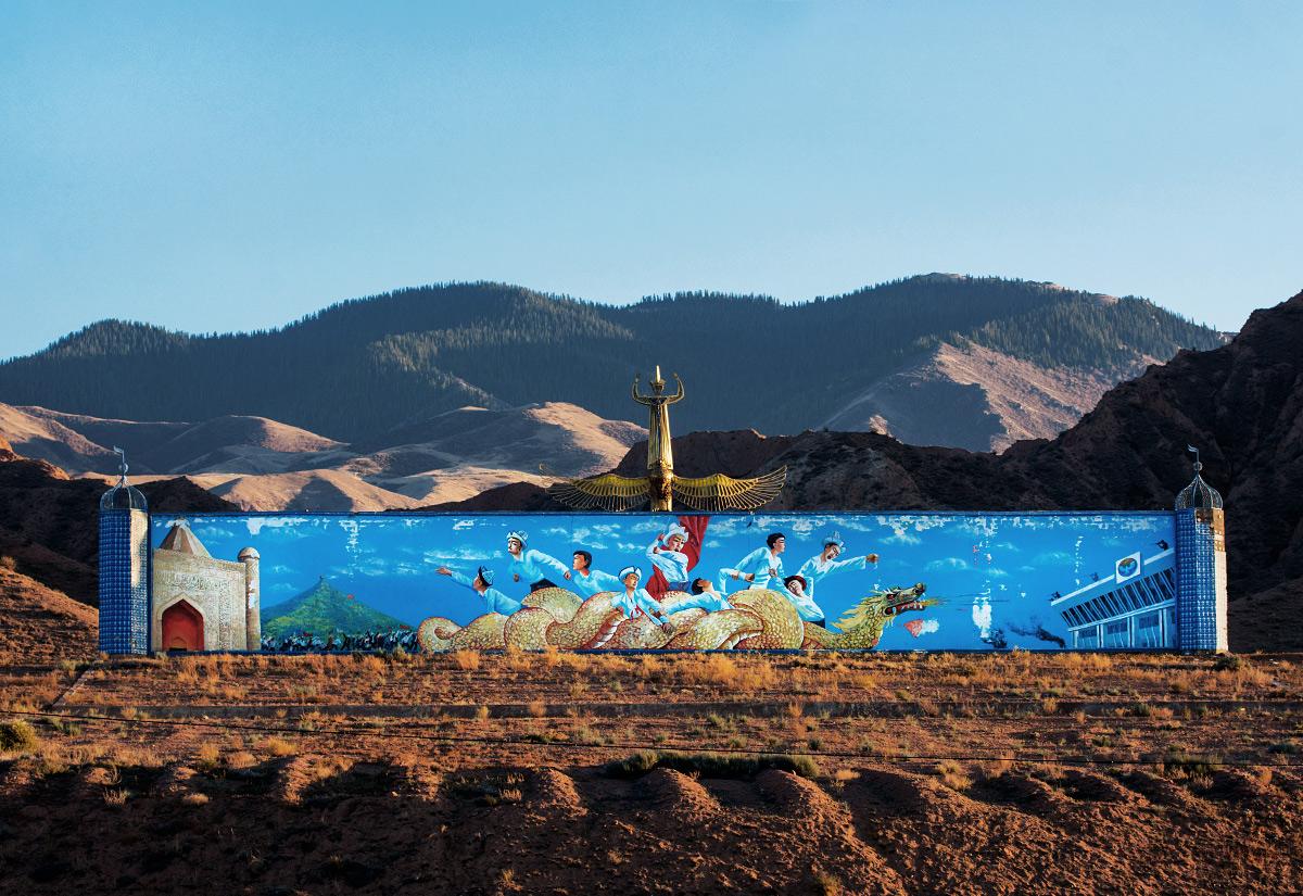 Ta ściana została postawiona parę lat po wstrzymaniu budowy Aalam-Ordo