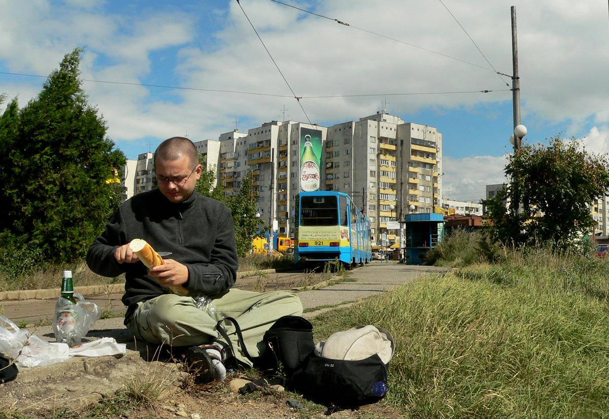 Sofia - piknik na skraju torowiska